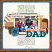 #dad #father #clevermonkeygraphics #digitalscrapbookinglayout