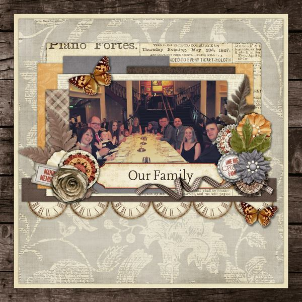 gingerscraps    kits    family tree digital scrapbook kit