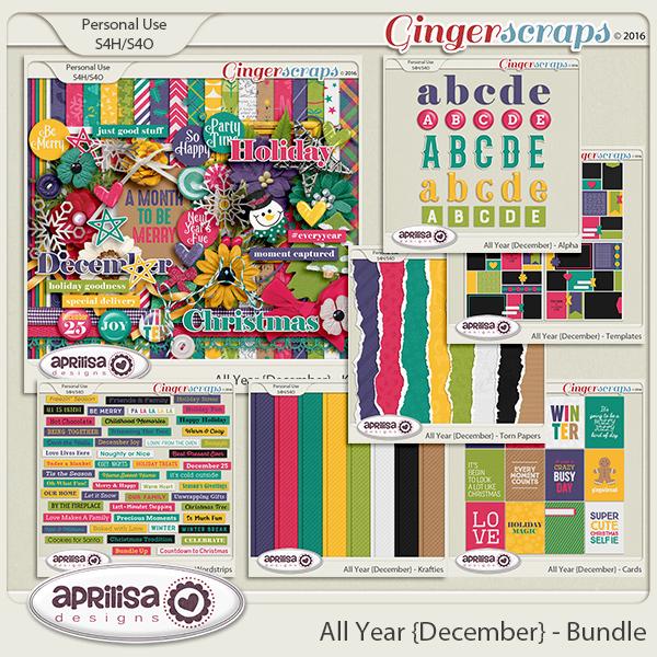 All Year {December} - Bundle