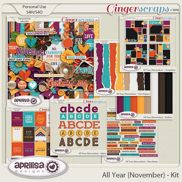 All Year {November} - Bundle