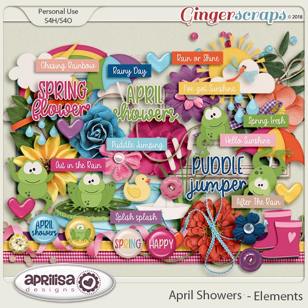 April Showers - Elements by Aprilisa Designs