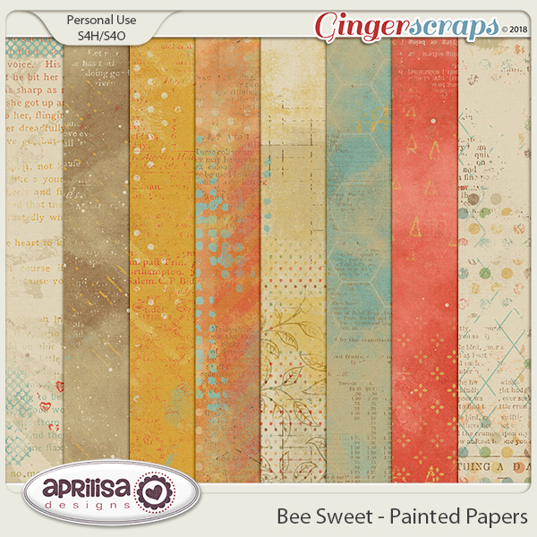 Bee Sweet - Painted Papers