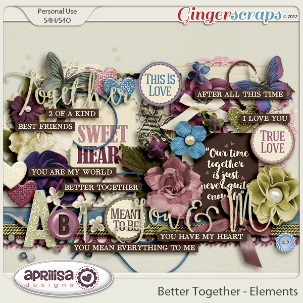 Better Together - Elements by Aprilisa Designs