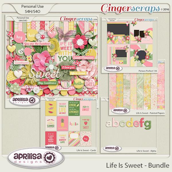 Life Is Sweet - Bundle by Aprilisa Designs