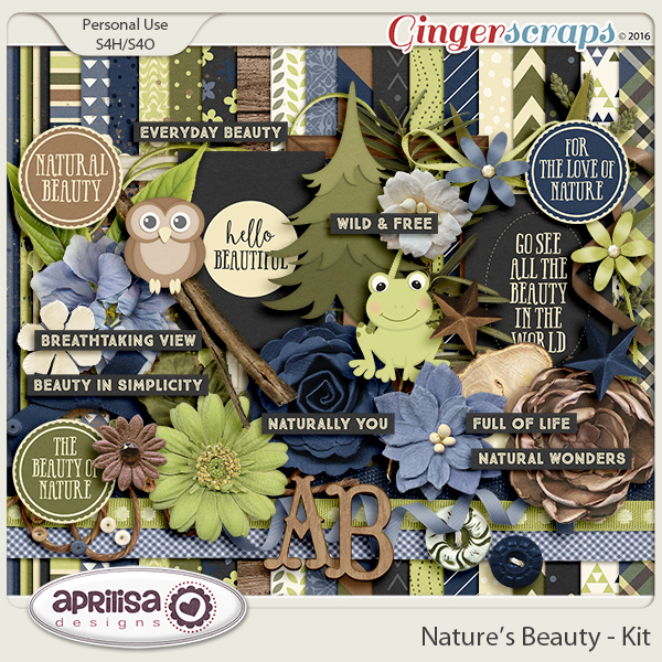 Nature's Beauty - Kit by Aprilisa Designs