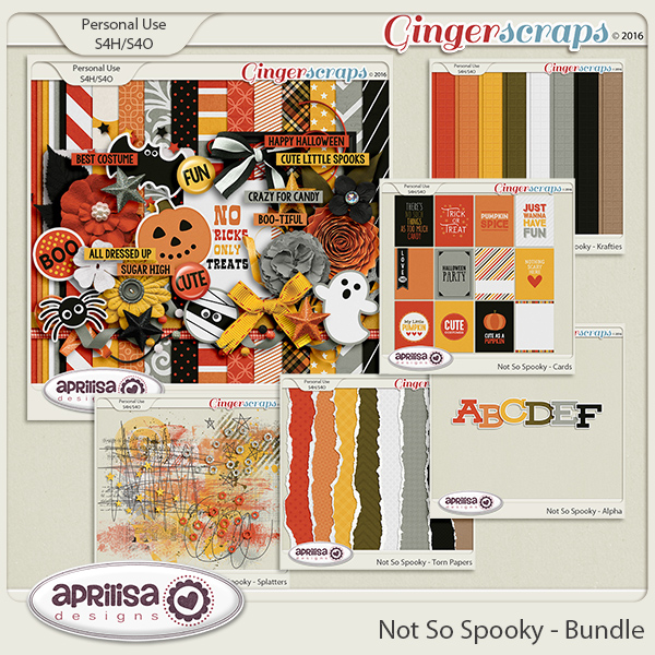 Not So Spooky - Bundle by Aprilisa Designs