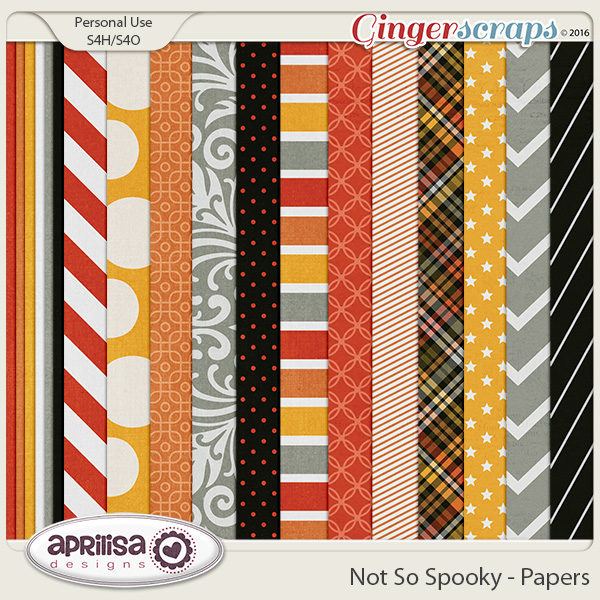 Not So Spooky - Papers by Aprilisa Designs
