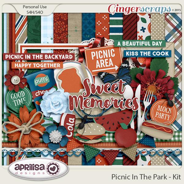 Picnic In The Park - Kit by Aprilisa Designs