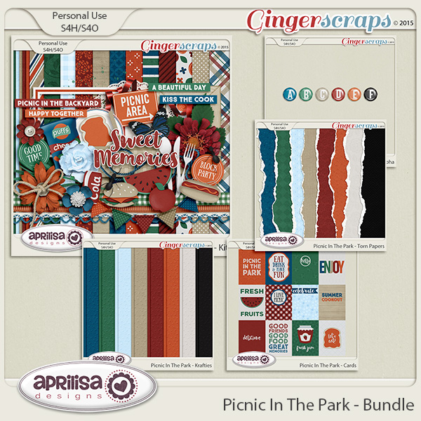 Picnic In The Park - Bundle by Aprilisa Designs
