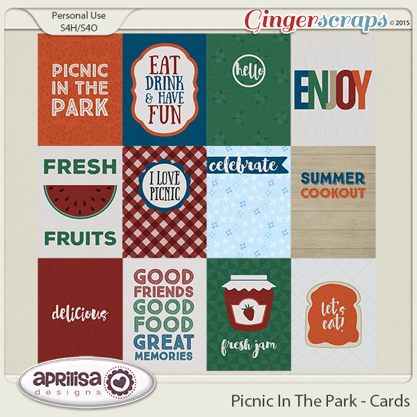 Picnic In The Park - Cards by Aprilisa Designs