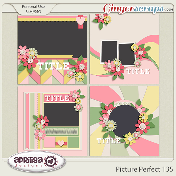 Picture Perfect 135 by Aprilisa Designs