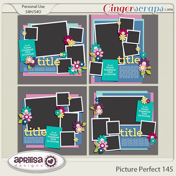 Picture Perfect 145 by Aprilisa Designs