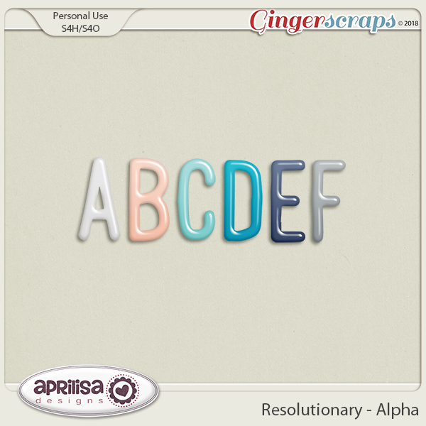 Resolutionary - Alpha by Aprilisa Designs