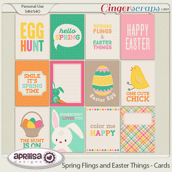 Spring Flings And Easter Things - Cards