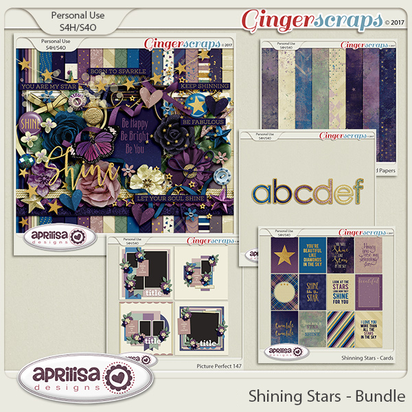 Shining Stars - Bundle by Aprilisa Designs