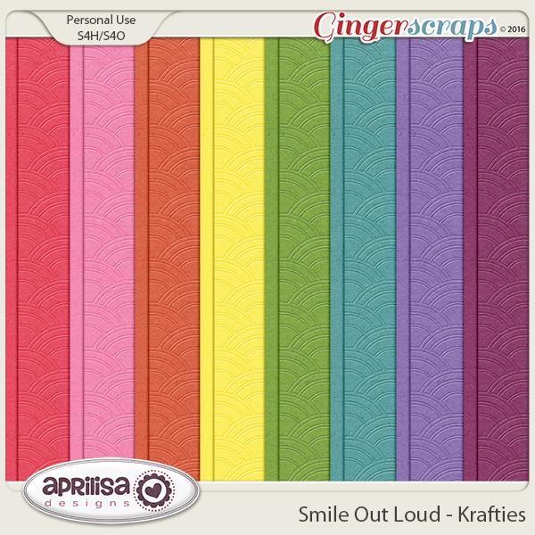 Smile Out Loud - Krafties by Aprilisa Designs
