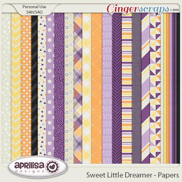 Sweet Little Dreamer - Papers by Aprilisa Designs