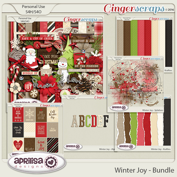 Winter Joy - Bundle by Aprilisa Designs.