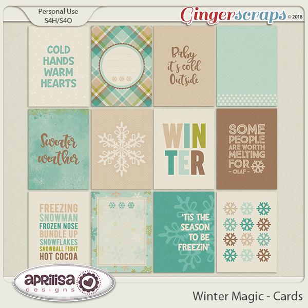 Winter Magic - Cards
