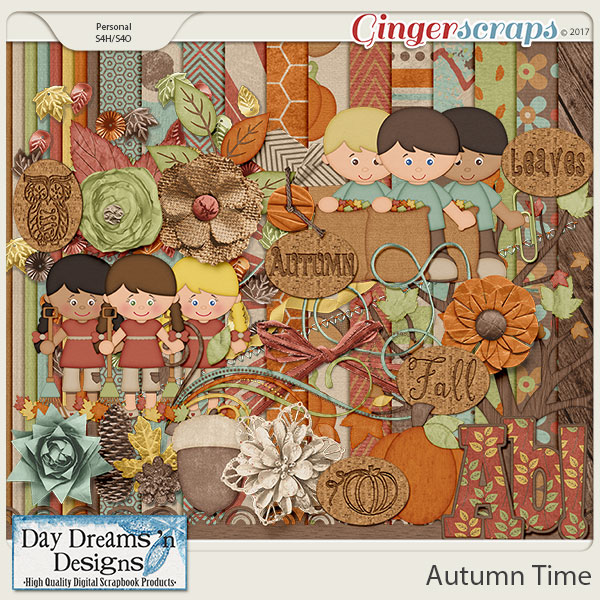 Autumn Time {Kit} by Day Dreams 'n Designs