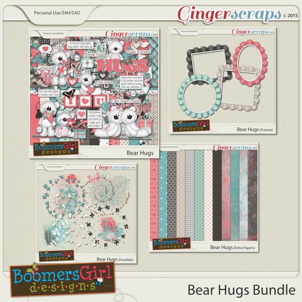 Bear Hugs Bundle by BoomersGirl Designs