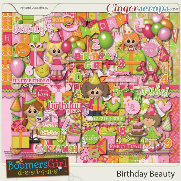 Birthday Beauty by BoomersGirl Designs