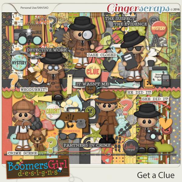Get a Clue by BoomersGirl Designs