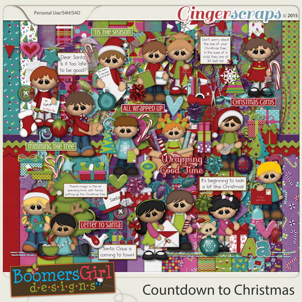 Countdown to Christmas by BoomersGirl Designs