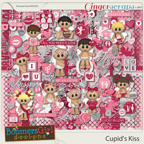 Cupid's Kiss by BoomersGirl Designs