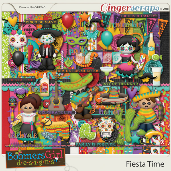 Fiesta Time by BoomersGirl Designs