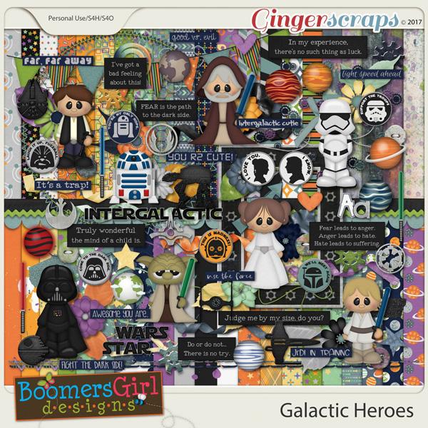 Galactic Heroes by BoomersGirl Designs