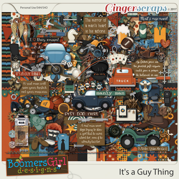 It's a Guy Thing by BoomersGirl Designs