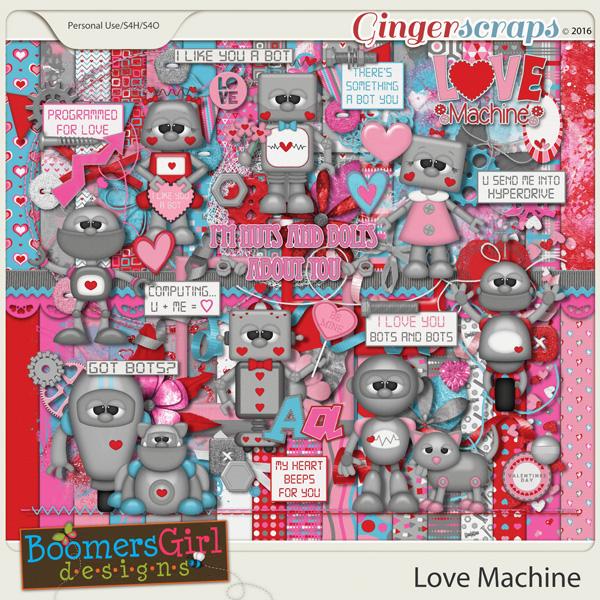 Love Machine by BoomersGirl Designs