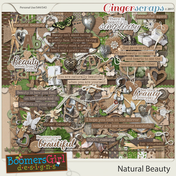 Natural Beauty by BoomersGirl Designs