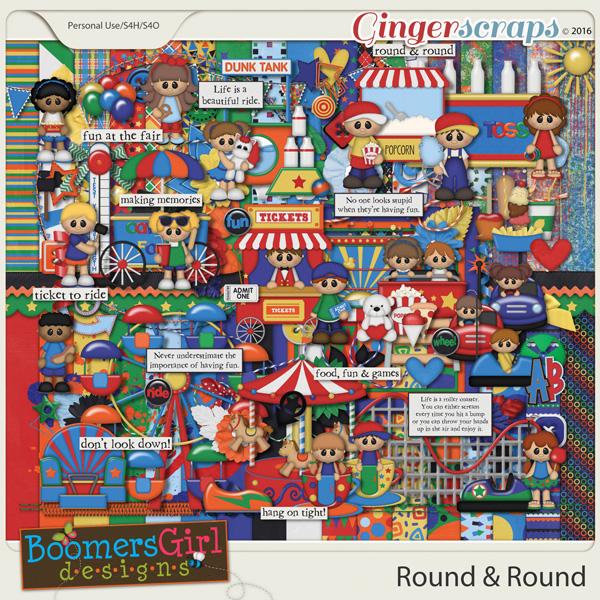 Round & Round by BoomersGirl Designs