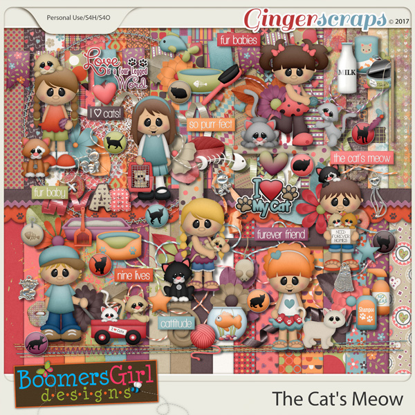 The Cat's Meow by BoomersGirl Designs