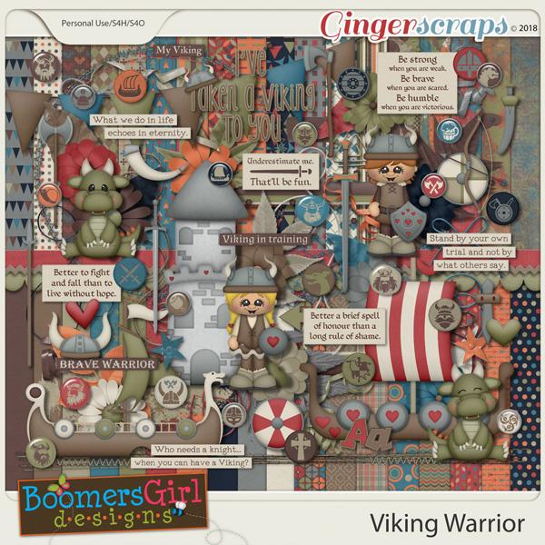 Viking Warrior by BoomersGirl Designs