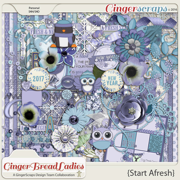 GingerBread Ladies Collab: Start Afresh