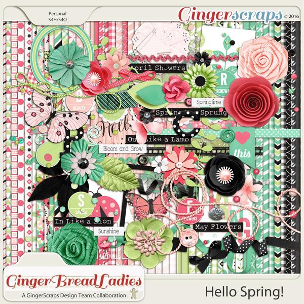 GingerBread Ladies Collab: Hello Spring