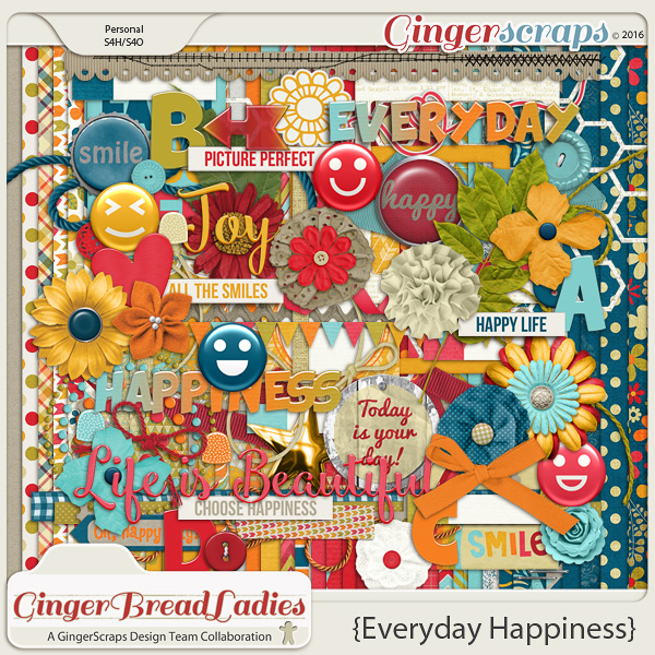 GingerBread Ladies Collab: Everyday Happiness