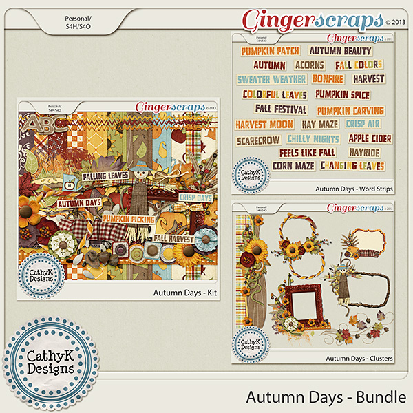 Autumn Days Bundle