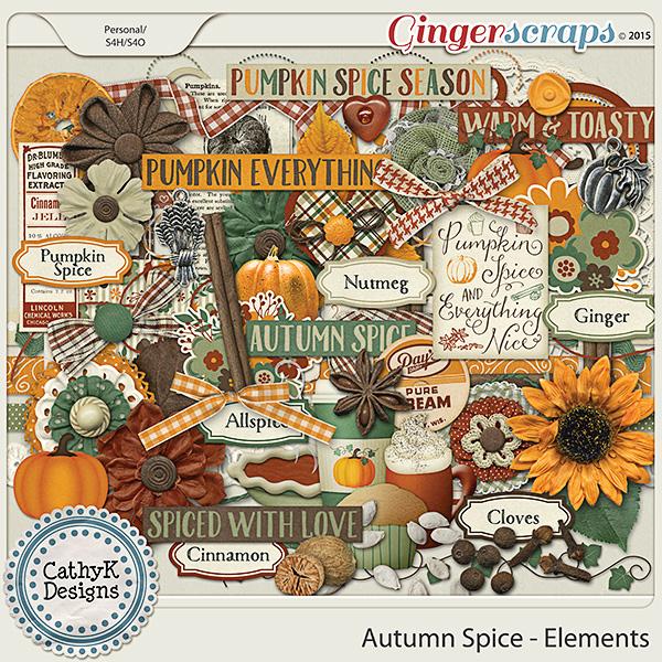 Autumn Spice - Elements