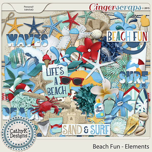 Beach Fun - Elements
