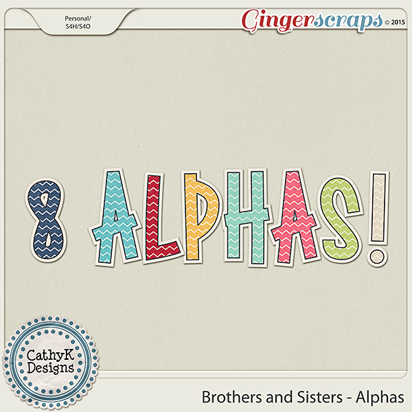 Brothers and Sisters - Alphas