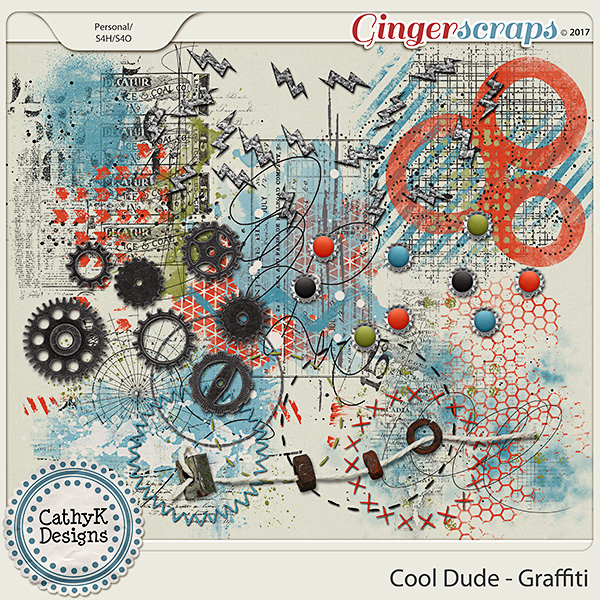 Cool Dude - Graffiti