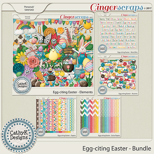 Egg-citing Easter - Bundle