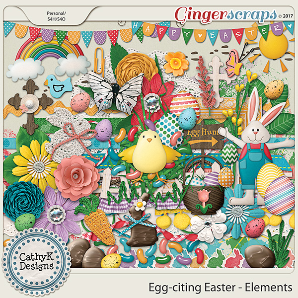 Egg-citing Easter - Elements