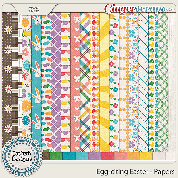 Egg-citing Easter - Papers