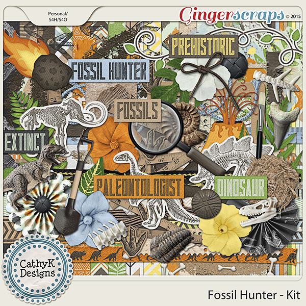 Fossil Hunter - Kit