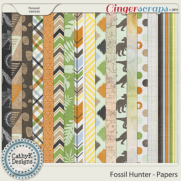 Fossil Hunter - Papers
